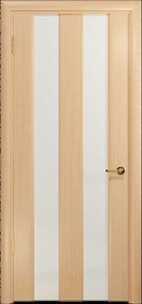 Арт Деко Стайл Амалия-2  беленый дуб триплекс белый