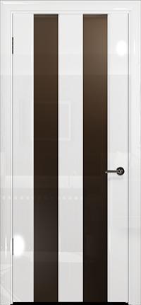 Арт Деко Vatikan Premium Глянец Амалия-2 белый глянец триплекс тонированный