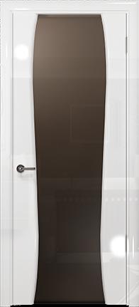 Арт Деко Vatikan Premium Глянец Лиана-3 белый глянец триплекс мокко