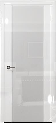 Арт Деко Vatikan Premium Глянец Спациа-3 белый глянец триплекс кипельно-белый