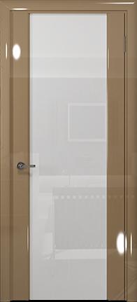 Арт Деко Vatikan Premium Глянец Спациа-3  бежевый глянец триплекс кипельно-белый