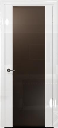 Арт Деко Vatikan Premium Глянец Спациа-3 белый глянец триплекс мокко