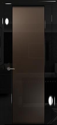 Арт Деко Vatikan Premium Глянец Спациа-3  черный глянец триплекс мокко