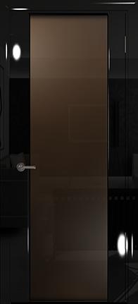 Арт Деко Vatikan Premium Глянец Спациа-3  черный глянец триплекс тонированный