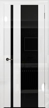 Арт Деко Vatikan Premium Глянец Спациа-5 белый глянец триплекс черный