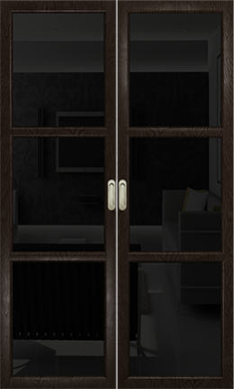 Арт Деко Vatikan Premium Трио фуокко триплекс черный