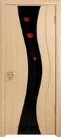 Арт Деко Стайл Корса беленый дуб триплекс черный с фьюзингом