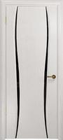 Арт Деко Стайл Лиана-2 ясень белый триплекс черный