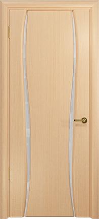 Арт Деко Стайл Лиана-2 беленый дуб триплекс белый