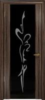 Арт Деко Стайл Спация-3 эбен триплекс черный с рисунком