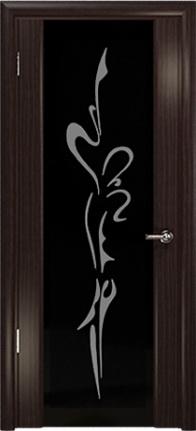 Арт Деко Стайл Спация-3 эвкалипт триплекс черный с рисунком