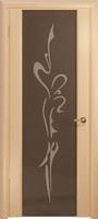 Арт Деко Стайл Спация-3 беленый дуб триплекс тонированный с рисунком