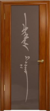 Арт Деко Стайл Спация-3 анегри темный триплекс тонированный с рисунком «Чингизхан»