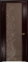 Арт Деко Стайл Спация-3 венге триплекс тонированный с рисунком cо стразами