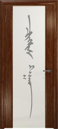 Арт Деко Стайл Спация-3 сукупира триплекс белый с рисунком «Чингизхан»