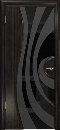 Арт Деко Стайл Ветра-1 фуокко триплекс черный с рисунком