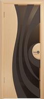 Арт Деко Стайл Ветра-1 беленый дуб триплекс мокко с рисунком