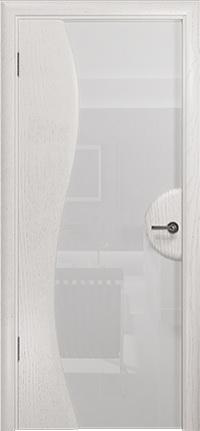 Арт Деко Стайл Ветра-1 ясень белый триплекс кипельно белый