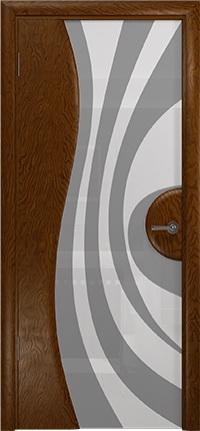 Арт Деко Стайл Ветра-1 терра триплекс белый с рисунком