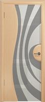 Арт Деко Стайл Ветра-1 беленый дуб триплекс белый с рисунком