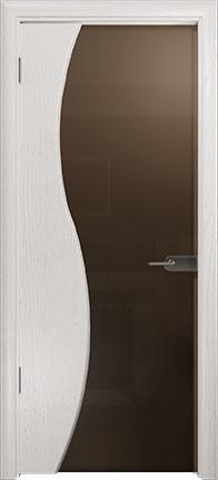 Арт Деко Стайл Ветра-3 ясень белый триплекс тонированный