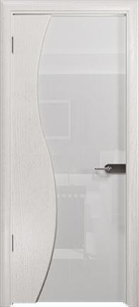 Арт Деко Стайл Ветра-3 ясень белый триплекс кипельно белый