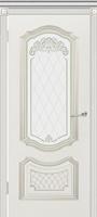 Эмилия Гранада ПО эмаль белая стекло белое матовое с рисунком
