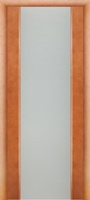 Interne Porte Глора ПО Милези 01 стекло «Белый триплекс»