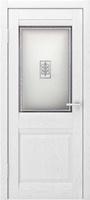 Гектор Шарм ПО ясень белый стекло трехцветное художественное