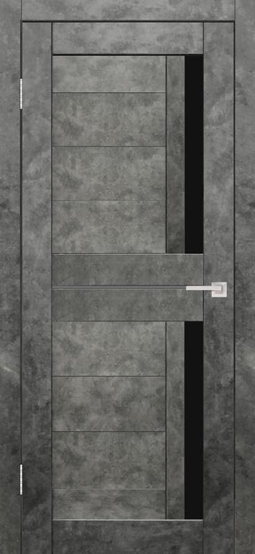 Гектор Твист ПО бетон графит стекло лакобель черное