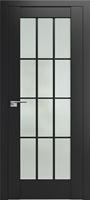 ProfilDoors 102U ПО черный матовый стекло матовое
