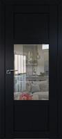 ProfilDoors 2.15U ПО черный матовый стекло прозрачное
