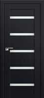 ProfilDoors 7U ПО черный матовый стекло матовое