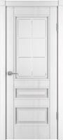 Мирра Сканди 2 ПО эмаль белая стекло мателюкс с рисунком решетка