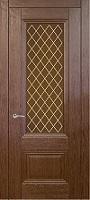 Triplex Doors Barselona Барселона 1 с рисунком Решетка ПО стекло типлекс бронза