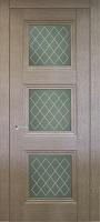 Triplex Doors Barselona Барселона 3 с рисунком Решетка ПО стекло триплекс белый
