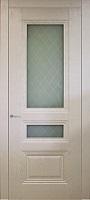Triplex Doors Barselona Барселона с рисунком Решетка ПО стекло триплекс белый