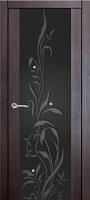 Triplex Doors Europa Европа 3 с рисунком ПО стекло триплекс черный