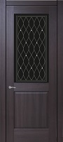 Triplex Doors Italy Италия 1 ПО стекло триплекс черный