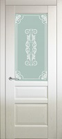 Triplex Doors Venice Венеция 1 ПО стекло триплекс белый
