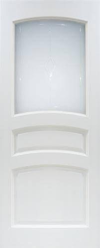 Мирра Модель 16 ПО белый лоск стекло матовое