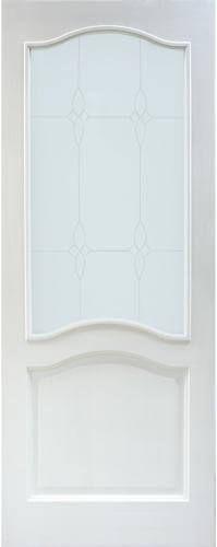 Мирра Модель 7 ПО белый лоск стекло матовое с рисунком