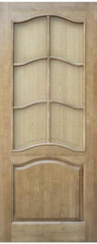 Мирра Модель 7 ПО светлый лак стекло матовое