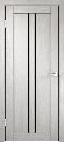 Velldoris Linea 2 ПО дуб белый стекло лакобель черное