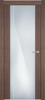 Status Futura 331 дуб капучино стекло каленое 8мм с вертикальной гравировкой