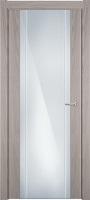 Status Futura 332 ясень стекло каленое 8мм с вертикальной гравировкой