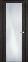 Status Futura 332 дуб патина стекло каленое 8мм с вертикальной гравировкой