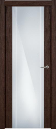 Status Futura 332 орех стекло каленое 8мм с вертикальной гравировкой