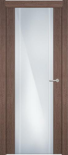 Status Futura 332 дуб капучино стекло каленое 8мм с вертикальной гравировкой