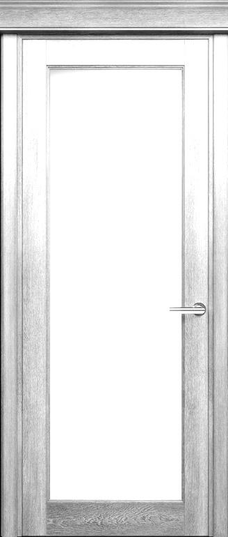 Status Classic 552 дуб белый стекло сатинато белое матовое